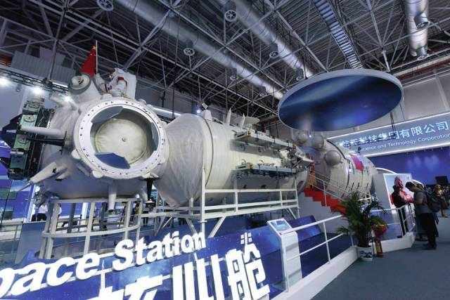 What's going on up there? The significance of China's new space station