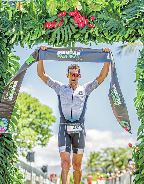 Ironman 70.3 Hawaii returns; Justin Riele comes out on top again