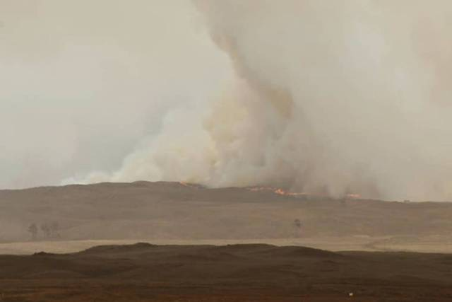 Brush fire continues to burn out of control in South Kohala