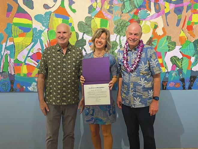 DMAC recognized by mayor