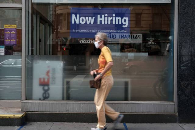 US jobs post smallest gain in seven months amid delta spread
