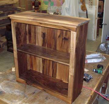 bookshelf plans wood