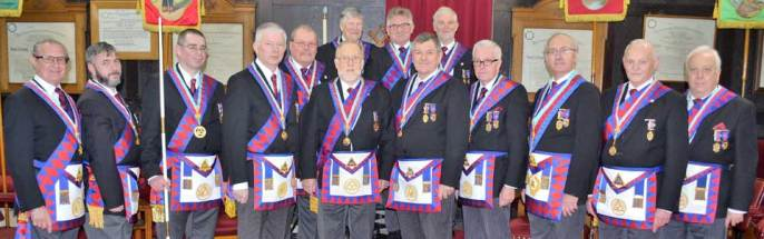 Provincial Grand Stewards' Chapter team