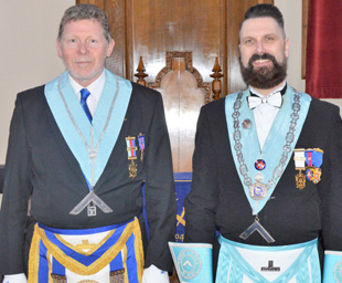 Paul Morgan takes the lead at Lune Lodge