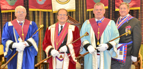 Pictured from left to right, are: Bill Williamson, Alan Gardner, John Eccles and Neil McGill.