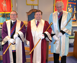 An enjoyable evening at Carnforth Chapter