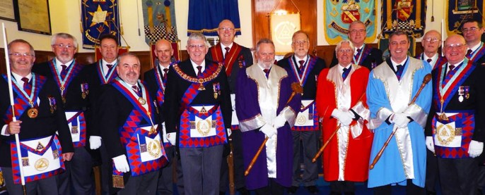 A happy and enjoyable meeting at Dalton in Furness Chapter.