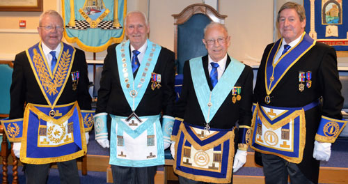 Pictured from left to right, are: Keith Kemp, Evan Beswick, Bill Manderson and Neil McGill.