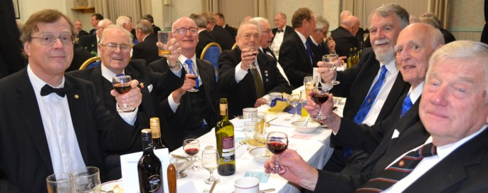 The WM's from 1997 still enjoying their Masonry.