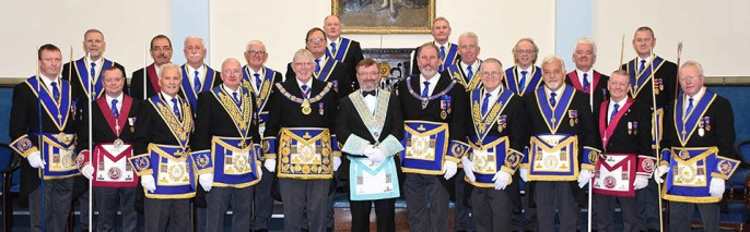 With the Provincial team at Starkie Lodge, Southport.