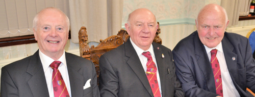 Pictured from left to right, are: Raymond Griffiths, Allan Finney and Michael Craddock.