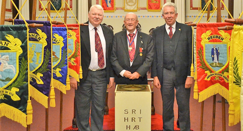 Pictured from left to right, are: Paul Shepherd, John Doig and Mark Matthews.