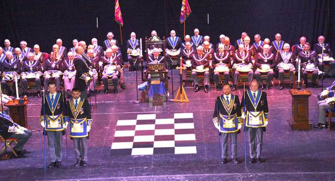 Provincial Grand Lodge was very well attended.