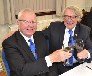 Bryan celebrates his 50 years in Freemasonry
