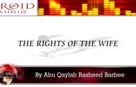 The Rights Of The Husband | Rasheed Barbee