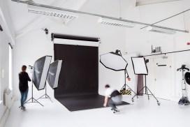 West London Studio - Setting up