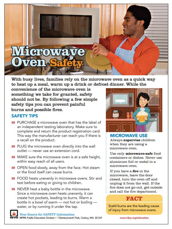 Microwave Oven Safety Guide