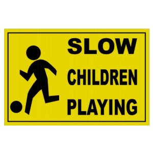Slow--Children Playing