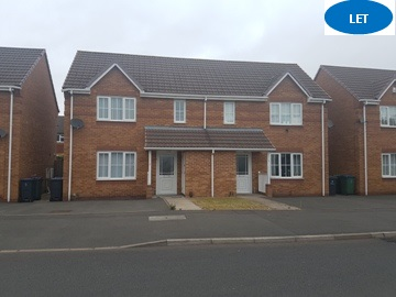 3 bedrom house to rent in Tipton