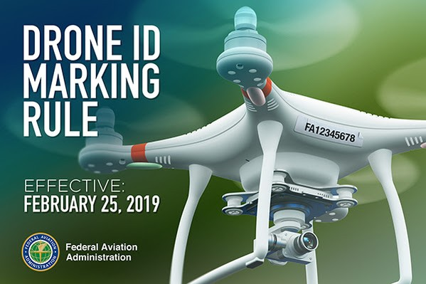 FAA Makes Major Drone ID Marking Change