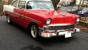 56 Chevy – New Stereo Upgrade in an Old Beauty