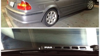 2005 BMW 325i Wiper Blade Replacement