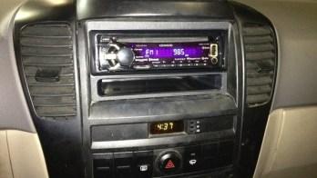 2004 Kia Sorento Upgraded to Bluetooth Capable Radio