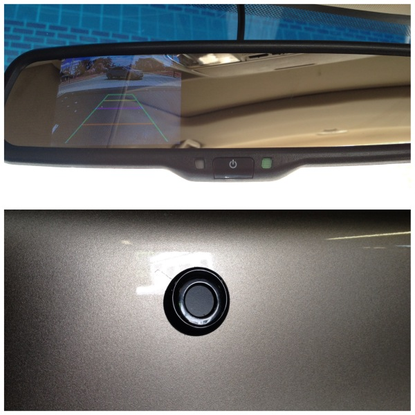 A Client From Baltimore, MD, Had Us Install A Backup Camera, Rear View  Mirror Monitor, And Backup Sensors In Her Honda Accord.