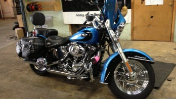 Harley Stereo Makeover For This 2011 Softail