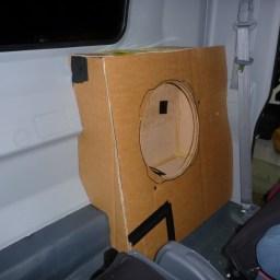 Commercial Vehicle Audio Subwoofer Enclosure