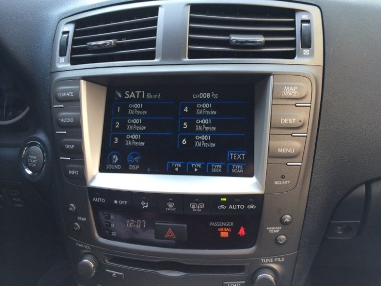 Lexus Satellite Radio