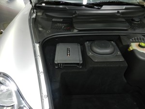 Porsche Amplifier Upgrade