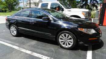 Mt Airy Window Tint Client Brings Us A VW CC