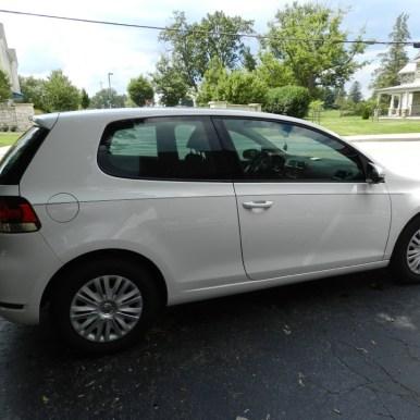 VW Golf Window Tint
