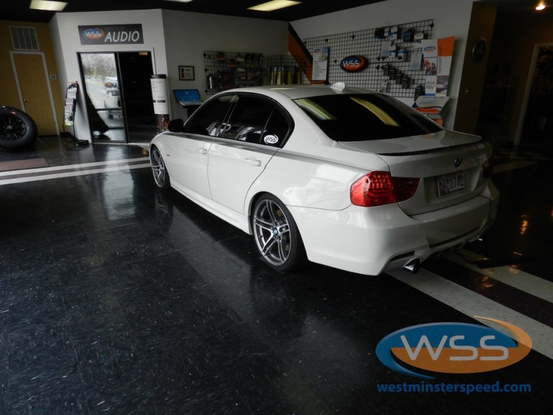 BMW 335i Window Tint