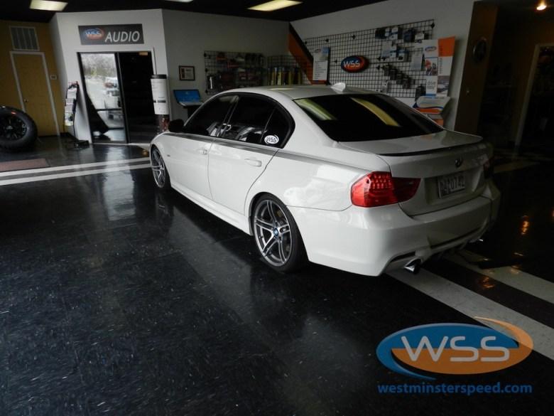 BMW 335i Window Tint