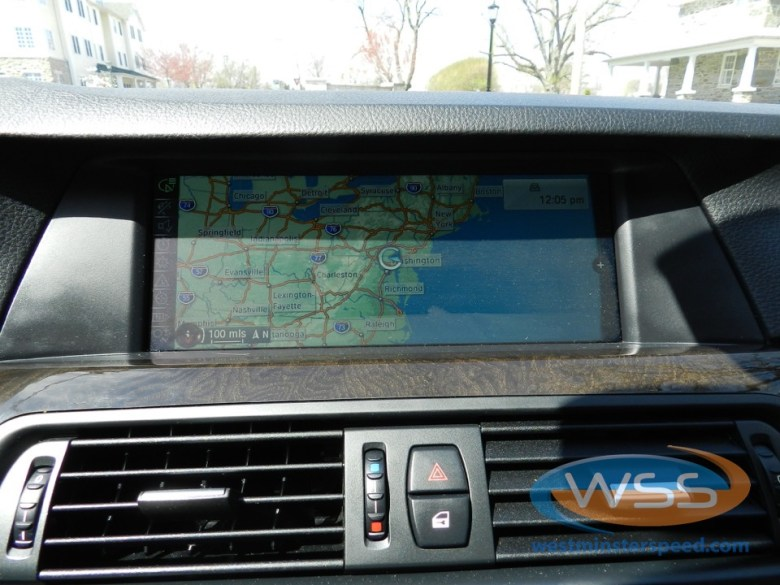 BMW 528i Backup Camera Solution
