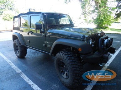 Jeep Wrangler Security System