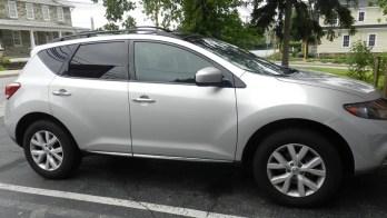 Sykesville Nissan Owner Adds Murano Parking Sensors