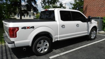 Reisterstown Client Adds F150 Laser and Radar Detector