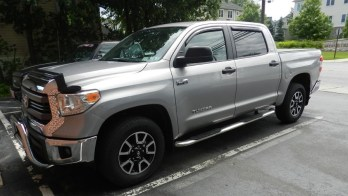 Littlestown Toyota Client Upgrades Tundra Audio System