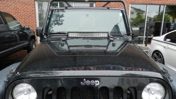 Jeep Wrangler Client From Westminster Adds Off-Road Lighting