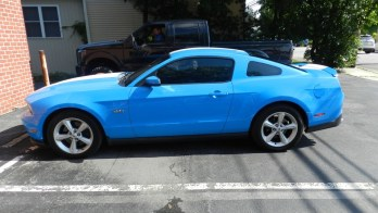 Westminster Client Upgrades Ford Mustang GT Window Tint