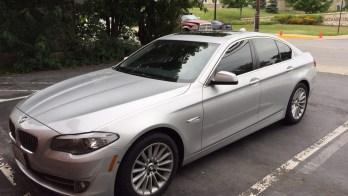 Finksburg Client Adds Dark Matter Window Tint To BMW 535xi