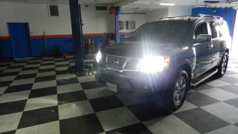 HID Lighting Brightens Up The Road For This Nissan Armada