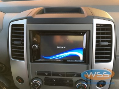 2012 Xterra Sony In Dash