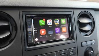 CarPlay Upgrade via Pioneer 6100NEX in 2016 Ford F250