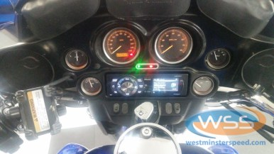 Harley Davidson Street Glide Stereo