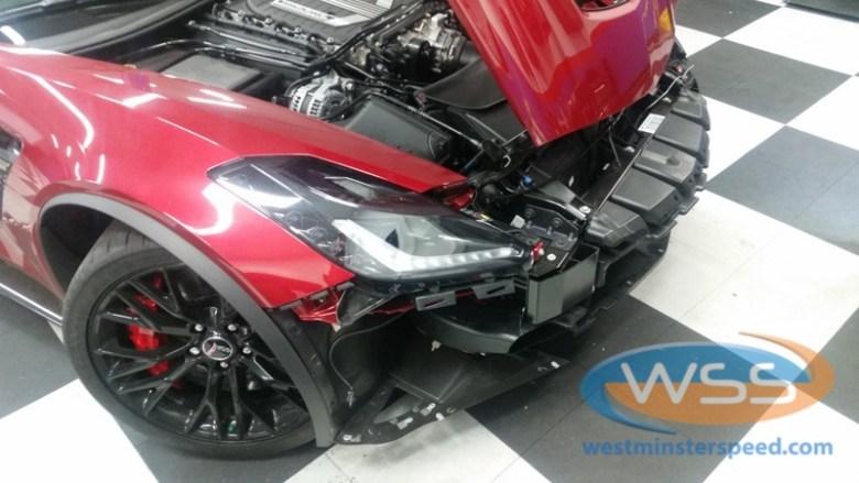 Corvette Z06 Custom Radar