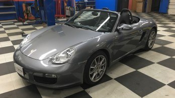 Westminster Client Comes to WSS for Porsche Boxster Audio Upgrade